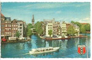 Amsterdam, Binnen-Amstel en Groenburgwal, 1960s unused