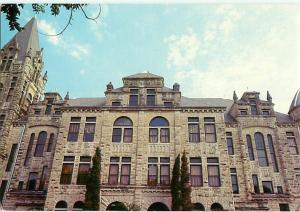 Georgetown Texas Cullen Building Southwestern University Front  Postcard  # 6809