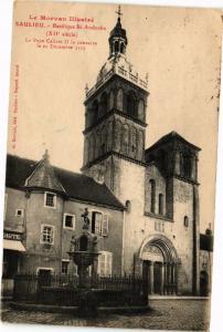 CPA SAULIEU - Basilique St-Andoche (115884)