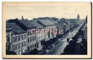 Old Postcard Plzen