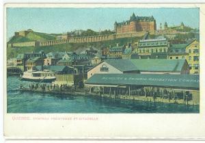 Chateau Frontenac Et Citadelle, Quebec