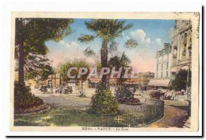 Nancy Postcard Old Train Station