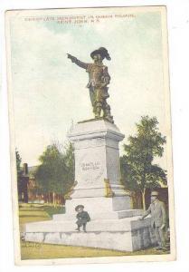 Champlain Monument In Queen Square, Saint John, New Brunswick, Canada, 1910-1...