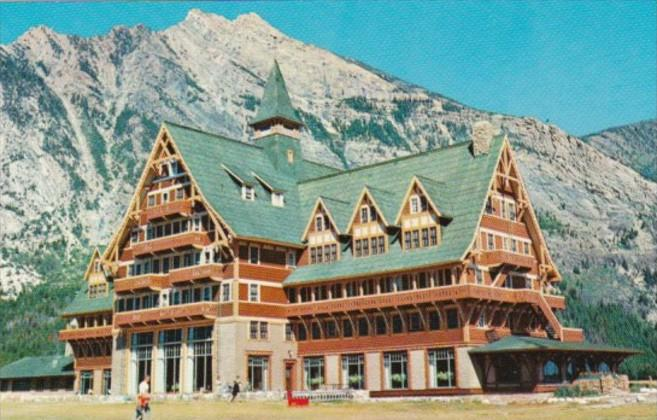 Canada Prince Of Wales Hotel In Waterton Lakes National Park Alberta
