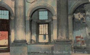 NEW  ORLEANS, Louisiana, 1900-10s; Slave Block, St. Louis Hotel