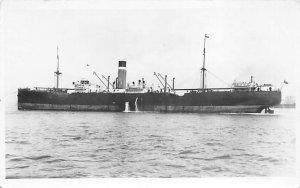 City of Cambridge Ellerman & Bucknall SS Co Ship Writing on back