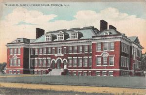 Patchogue Long Island NY Wilmott Grammar School Antique Postcard K27984