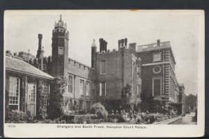Middlesex Postcard - Orangery and South Front, Hampton Court Palace   T2806