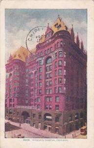 Illinois Chicago Womans Temple 1907
