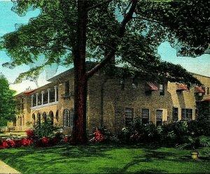 Raleigh North Carolina NC Women's Club Vtg Linen Postcard