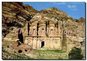 Postcard View Of Modern Eddeer At Petra