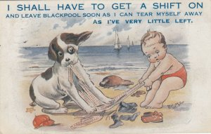 P.C. MILLER ; Boy & Dog , I shall have to get a shift on , 1919