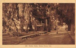 USA Public Park Santa Clara 03.14