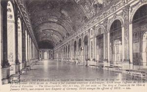 France Versailles La Galerie des Glases Palais de Versailles