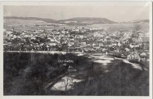CZECH REPUBLIC USTI NAD DORLICI FOTO SLEZAK 1935 PANORAMA