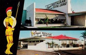 ST. PETERSBURG, Florida, 1940-60s; Louis Pappas' Restaurant & Cocktail Lounge