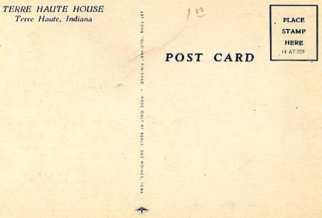 IN - Terre Haute. Terre Haute House