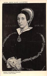 National Portrait Gallery, Queen Catherine Howard (1520?-42) by Holbein
