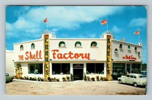 Fort Myers FL-Florida, The Shell Factory, Chrome c1955 Postcard