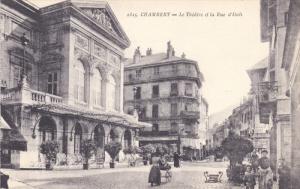 CHAMBERY, Le Theatre et la Rue d'Itali, Savoie, France, 00-10s