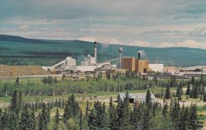 HINTON , Alberta, Canada, 50-60s ; North Western Pulp & Power Mill ; Version-2