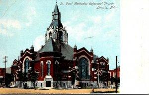 Nebraska Lincoln St Paul Methodist Episcopal Church