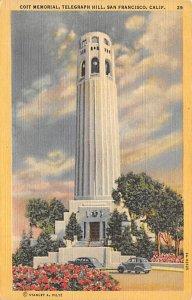 Coit Memorial, Telegraph Hill San Francisco CA