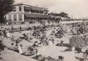 LA ROCHELLE, Charente Maritime, France, 1950's; The Beach