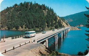 Blue Bay Bridge Lake Coeur D' Alene North Idaho ID Chrome