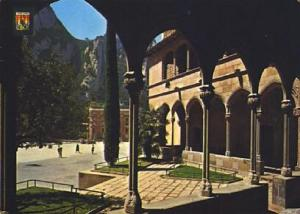 POSTAL 57361: Montserrat Detalle del Barrio Gotico