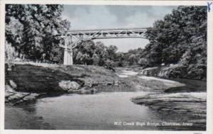 Iowa Cherokee Mill Creek High Bridge Curteich