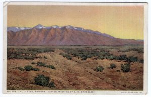 The Desert, Arizona - Fred Harvey