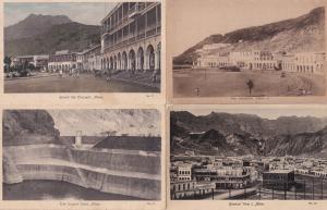 Aden Yemen The Largest Tank 4x Old Postcard s