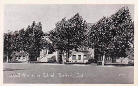 California Turlock Lowell Grammar School