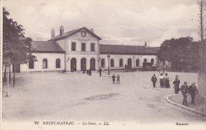 NEUFCHATEAU, Vosges, France, 1900-1910´s; La Gare