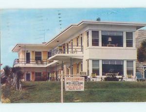 Pre-1980 DUNE CREST MOTEL Daytona Beach Florida FL M2219