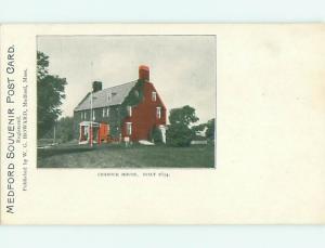 Unused Undivided CRADDOCK HOUSE Medford Massachusetts MA v3111