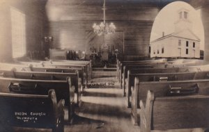 RP: PLYMOUTH , Vermont , 00-10s ; Union Church Interior