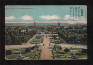 059266 GERMANY Karlsruhe vom Schloss aus gesehen