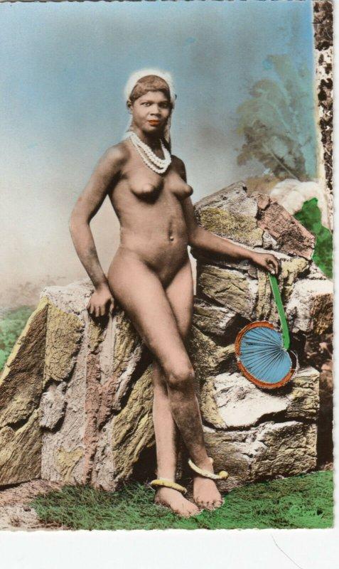 RP: Nude Maresque Girl , 1910-20s