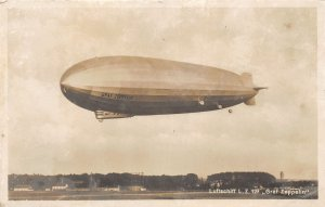 G80/ Interesting RPPC Postcard c1910 Graf Zeppelin Blimp Airship Germany 8