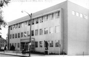 Mason City Iowa~New Cerro Gordo County Courthouse~RPPC 1961