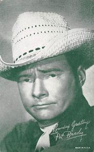 Pat Brady Western Actor Mutoscope Unused