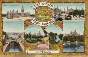 OTTAWA, Ontario, 00-10s ; Best Wishes from Canada, 6-views