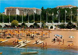 NUEVA ANDALUCIA HOTEL Beaches Marbella Costa del Sol SPAIN Postcard