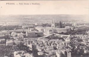 Czechoslovakia Praha Mala Strana a Hradcany Panoramic View