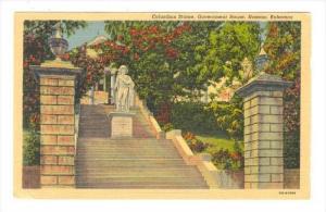Bahamas , 30-40s   Columbus Statue, NASSAU
