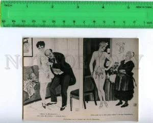213331 Leonee nude girl & doctor russian photo miniature card