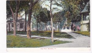 MENDOTA , Illinois, 00-10s ; City Park, Fountain