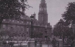 LEICERTER, Leicertershire, England, PU-1906; Municipal Building